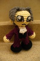 Miles Edgeworth Amigurumi by Phantasmfreud