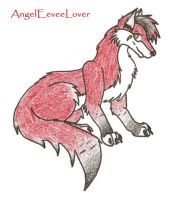 For AngelEeveeLover - Red Wolf by Canine-Wild