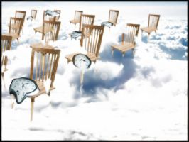 Clocks and chairs by EaterofOrphans