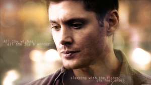 All the wishes (Dean Winchester Wallpaper) by mistofstars