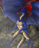 Blue Dragon by Sarieu