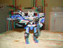 Decepticon Dropkick in 3D by LittleBigDave