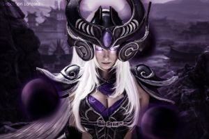 Syndra from League of Legends by Baku-Project