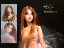 Arielle Obitsu Doll Customized by Katerina-Art