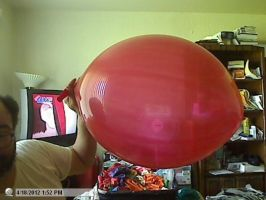 16 inch punch balloon by billoon45