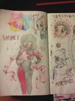Steven Universe Doodles by atomickelsey