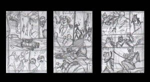 BATMAN ROCKABILLY - Sample Pages Storyboards by DenisM79