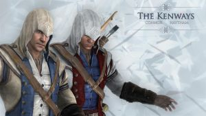 what if...Haytham as assassin by shatinn