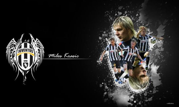 Milos Krasic Juventus Desktop by jayicesight