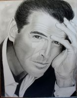 Pierce Brosnan by kwalden
