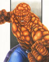 Fantastic 4: The Thing by smlshin