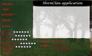 Hornclan application reference. by ShadowPaw1007