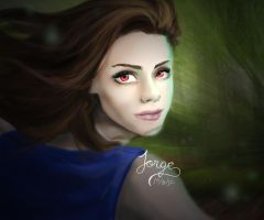 Bella as Vampire by JorgeGtV