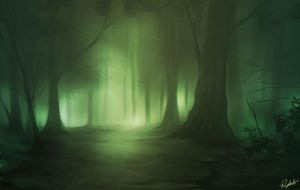 Forest . by soldiercloud42