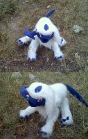 Absol Plushie :FOR SALE: by PrinceofPride