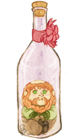 Bottled Dwarves - Bombur: Wine Bottle by pzhika2dkosametchori