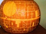 Death Star Pumpkin (Flash) by Deatph