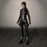 TOMB RAIDER Lara Croft Legend Biker Reborn by ArmachamCorp