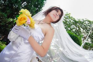 Final Fantasy X - Yuna Wedding by Xeno-Photography
