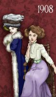 1908: Colored by Adelie-Helene