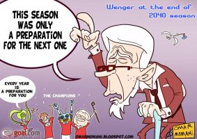 Same Old Wenger by OmarMomani