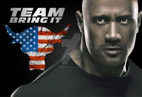 Dwayne 'The Rock' Johnson by Niners01916