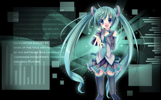 Vocaloid forever by caidychen