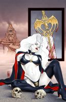 Lady Death Auxiliary 0 cover by MDiPascale