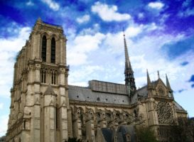 Notre Dame in the sky reloaded by DrakseidFM
