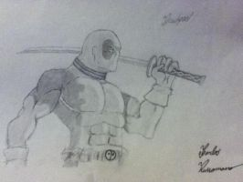 Deadpool #3 by Draw4fun2