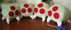 Metroids for sale by PlushMayhem