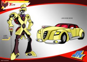 Gobots Animated Tux by PWThomas