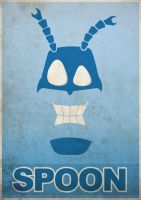 The Tick - Poster by hectorbustnuts
