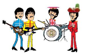 My Sgt. Pepper's Cartoon by BeatlesBoy26