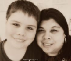 The Photographer and her Son by gdsbngd2me