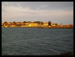 Nessebar and the sea by ofeliq