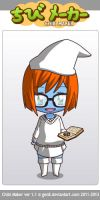 Anthropologist Smurf by chibinekogirl102