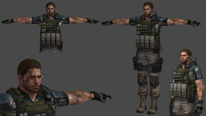 Bio6 Chris Redfield China -D3- by BSAAgirl