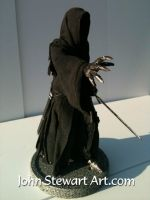 Ringwraith Lord of the rings model for sale by johnstewartart