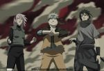 Naruto 632 Team 7 Fighting Side By Side by bangalybashir