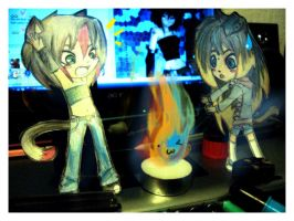 FIREEEE by SweetChibi