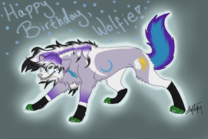 HAPPY BIRTHDAY WOLFIEEEEEEE by threefourthsginger