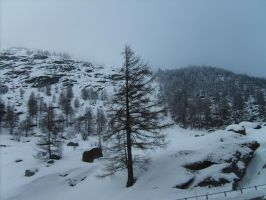 Snowy places 008 by Kowia