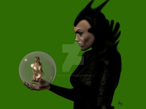 Maleficent by andy-goldstraw