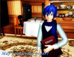 Kaito Waiter by leonlivelks