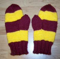 Harry Potter Gloves by harelquin-demon
