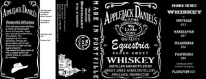 Applejack Daniel's Bottle Design by Kauyon-Kais