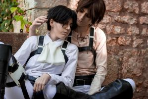 Ereri by Ellyana-cosplay