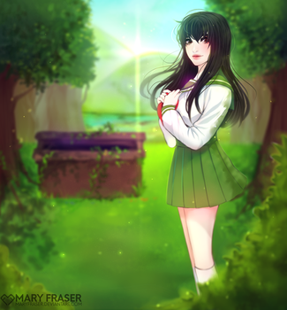 Kagome by maryfraser