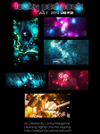 July PSD Pack by xElegancex